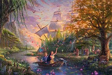 Load image into Gallery viewer, Thomas Kinkade The Disney Collection Pocahontas Jigsaw Puzzle, 750 Pieces - Roll2Learn