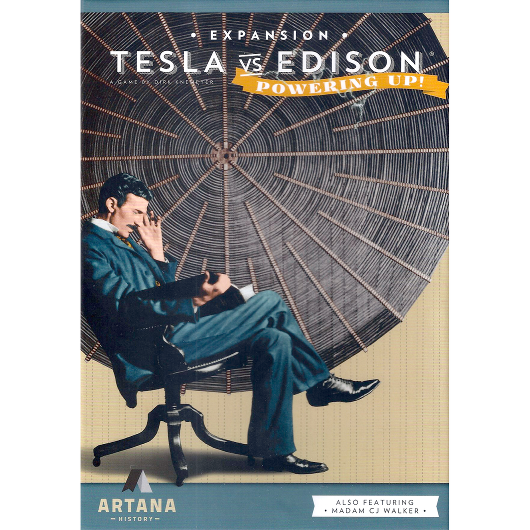 Tesla vs Edison - Powering Up! Expansion - Roll2Learn