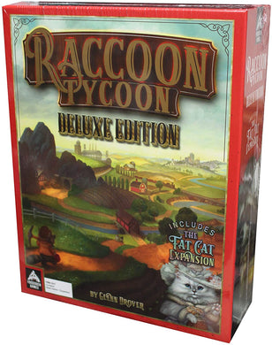 Raccoon Tycoon Deluxe with Fat Cat Expansion - Roll2Learn