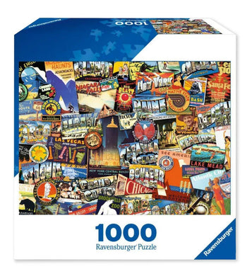Road Trip USA Jigsaw Puzzle - 1000pc - Roll2Learn