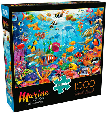 Reef Rush Hour - 1000 Piece Jigsaw Puzzle - Roll2Learn