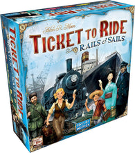 Load image into Gallery viewer, Ticket to Ride - Rails and Sails - Roll2Learn