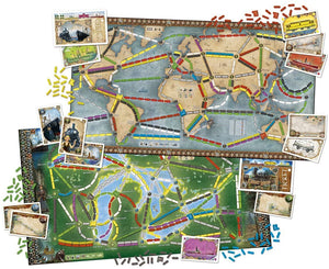 Ticket to Ride - Rails and Sails - Roll2Learn