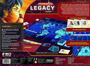 Pandemic Legacy - Season 1 (Red Edition) - Roll2Learn