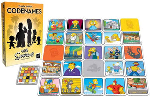 Codenames - The Simpsons - Roll2Learn