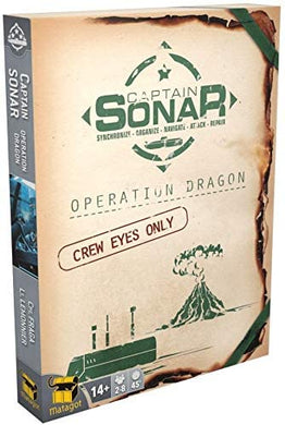 Captain Sonar - Operation Dragon Expansion - Roll2Learn