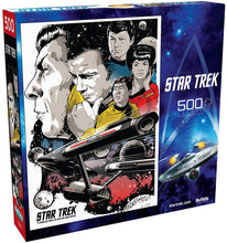Load image into Gallery viewer, Star Trek - To Boldly Go Where No Man Has Gone Before - 500 Piece Jigsaw Puzzle - Roll2Learn
