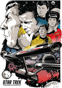 Star Trek - To Boldly Go Where No Man Has Gone Before - 500 Piece Jigsaw Puzzle - Roll2Learn