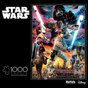 Star Wars Vintage Art: You'll Find I'm Full of Surprises - 1000 Piece Jigsaw Puzzle - Roll2Learn