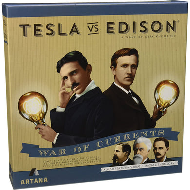 Tesla vs Edison - War of Currents - Roll2Learn