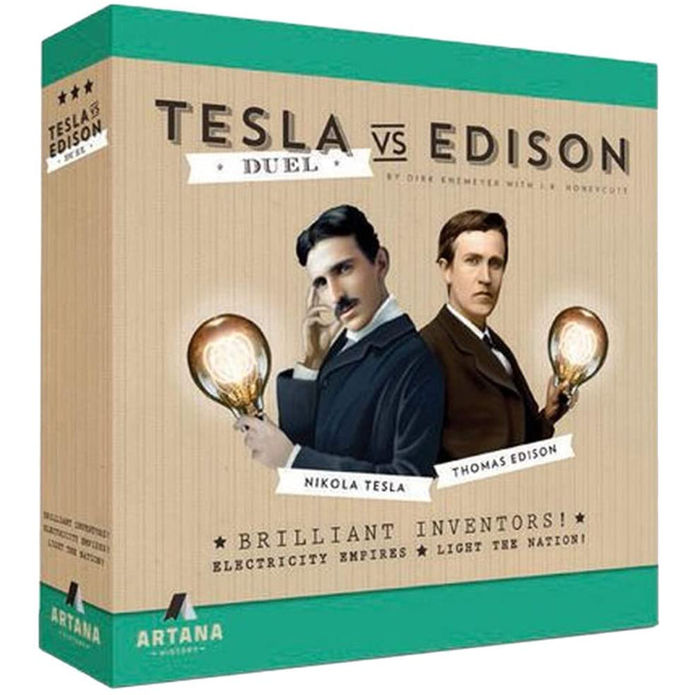 Tesla vs. Edison - Duel - Roll2Learn