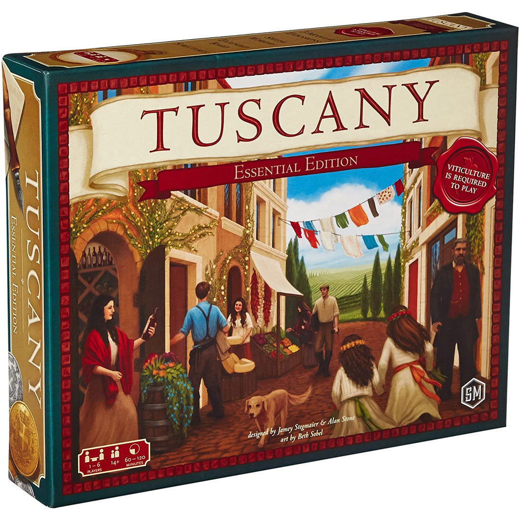 Viticulture - Tuscany Essential Edition Expansion - Roll2Learn