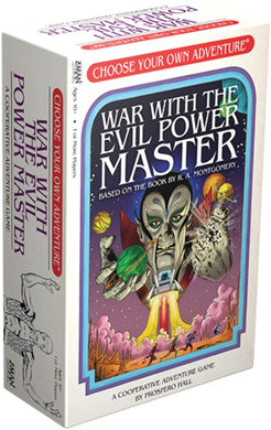 Choose Your Own Adventure - War With the Evil Power Master - Roll2Learn