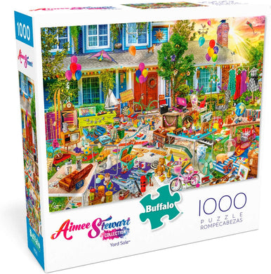 Aimee Stewart - Yard Sale - 1000 Piece Jigsaw Puzzle - Roll2Learn
