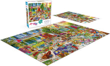 Load image into Gallery viewer, Aimee Stewart - Yard Sale - 1000 Piece Jigsaw Puzzle - Roll2Learn