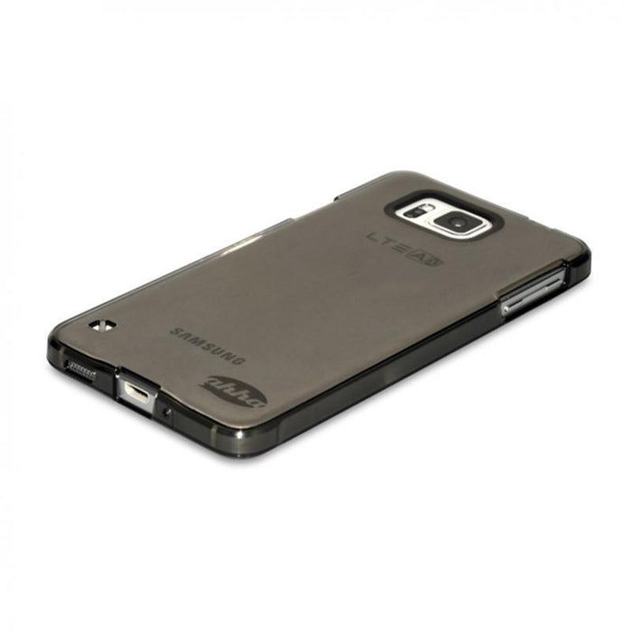 Ahha Gummi Shell Moya Samsung Alpha Cover (Clear/Black)