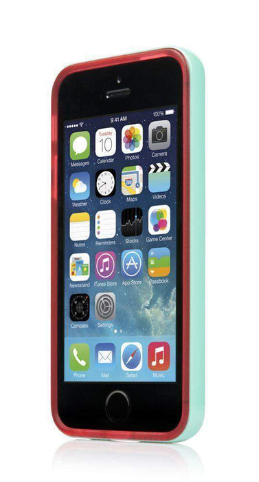 Ahha Soft Case Lulla iPhone 5/5S Cover (Red/Green)