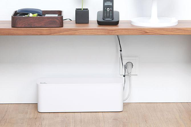 Blue Lounge CableBox (White)