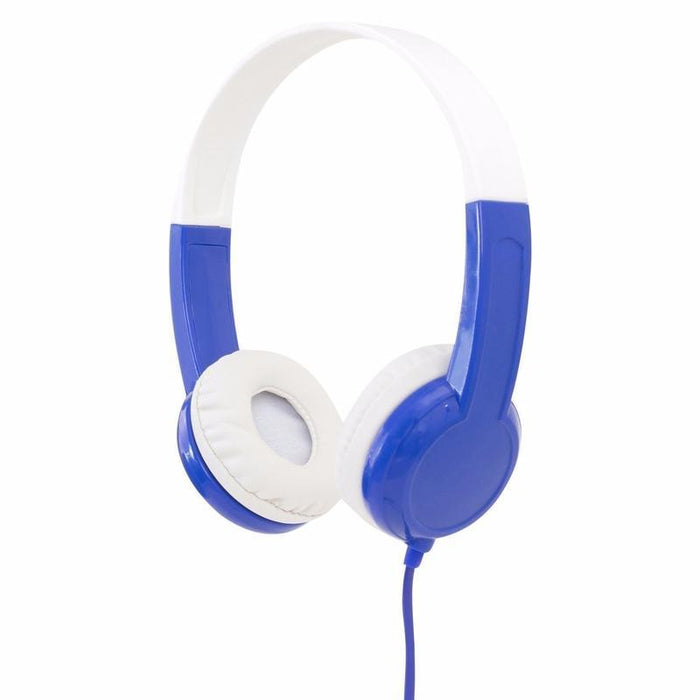 BuddyPhones Volume-Limiting Headphones for Kids (Blue)