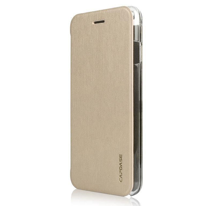Capdase Folder Case Sider Slim iPhone 6 Plus / 6S Plus Cover (Gold/Clear)