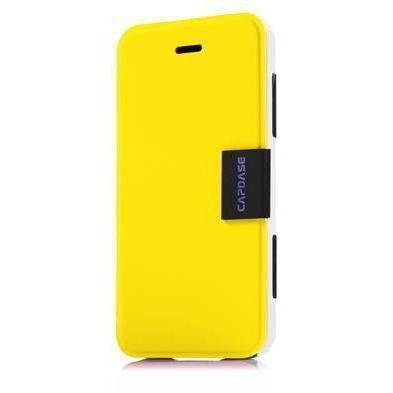 Capdase Karapace Sider Elli iPhone 5/5S/SE Cover (Yellow/White)