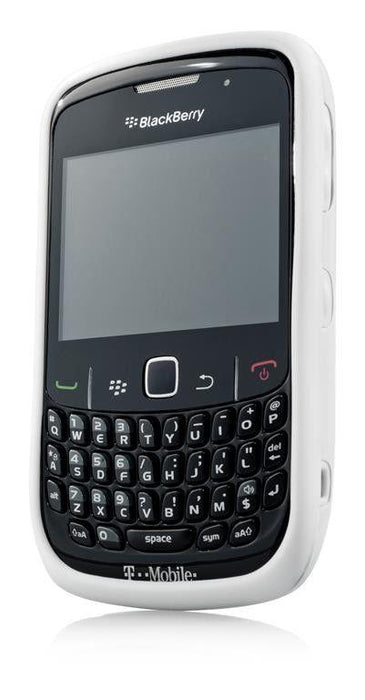 Capdase Soft Jacket Blackberry 8520/9300 (White)