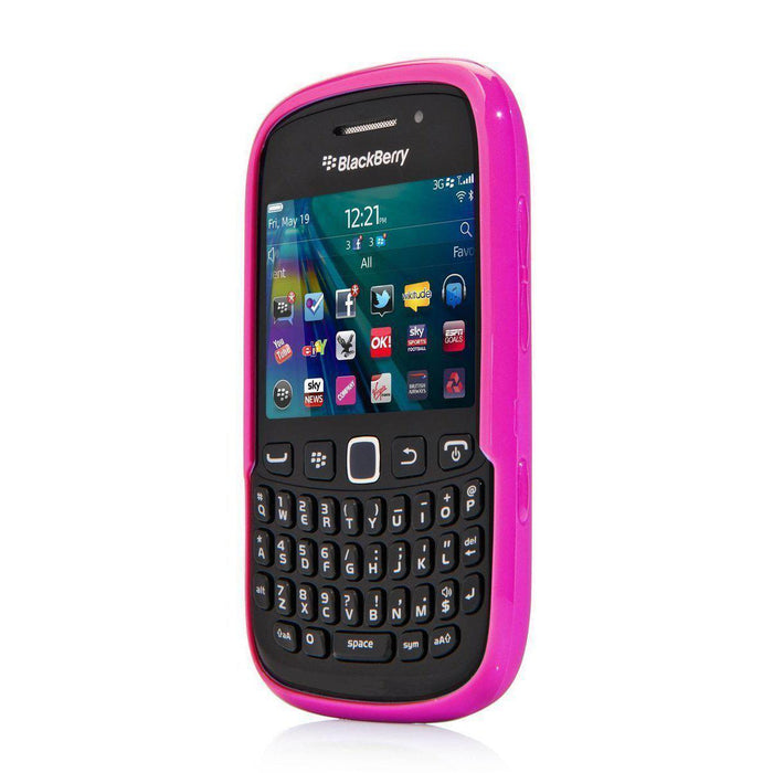 Capdase Soft Jacket Blackberry 9320 Cover (Purple)