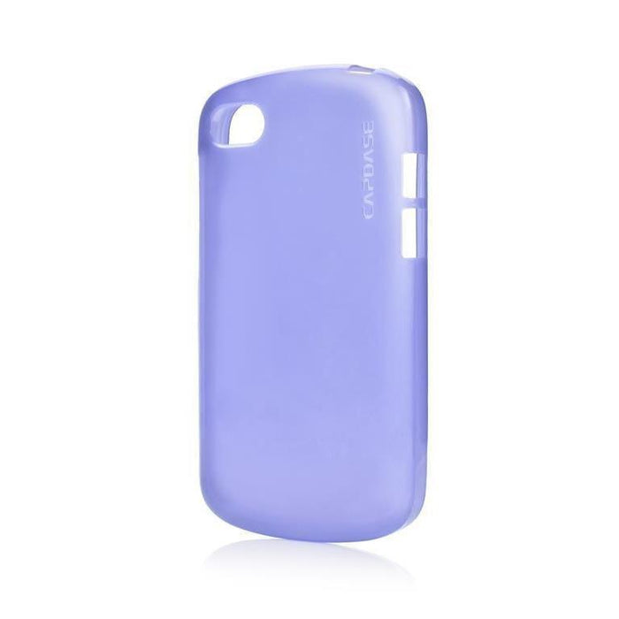 Capdase Soft Jacket Lamina Blackberry Q10 Cover (Tint Blue)