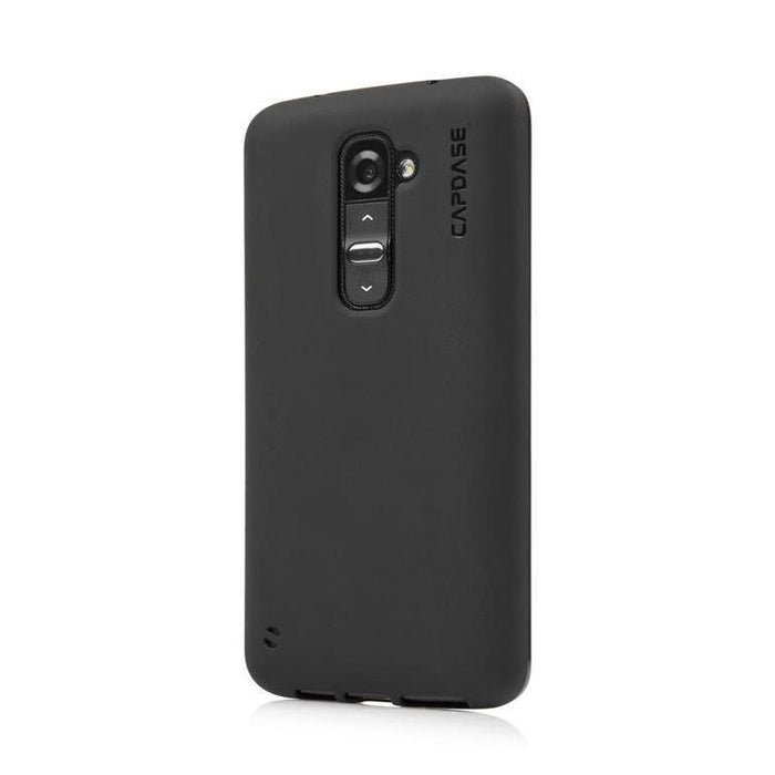 Capdase Soft Jacket LG G2 Cover (Solid Black)