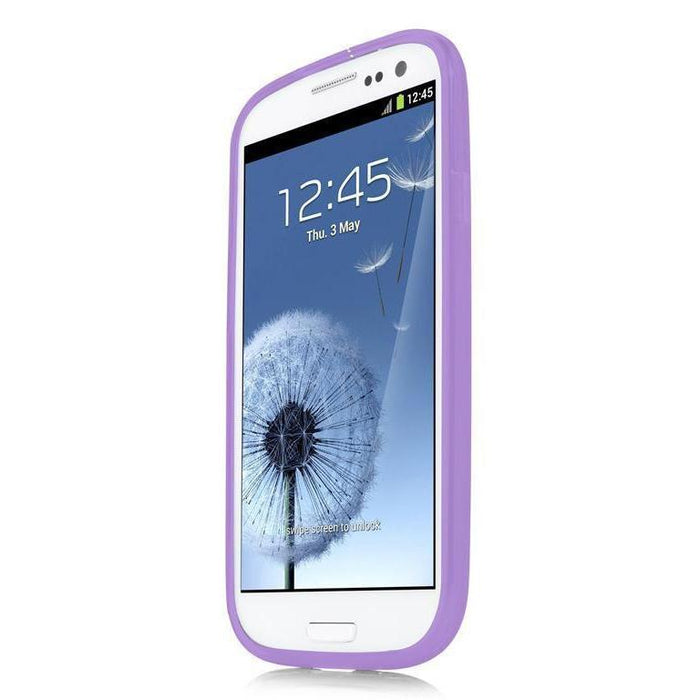 Capdase Soft Jacket Samsung Galaxy S3 Cover (Purple)