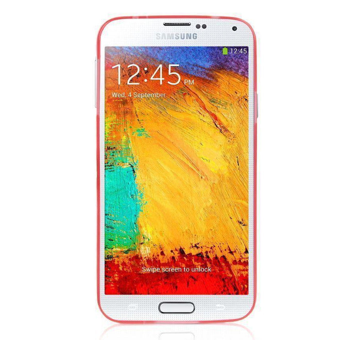 Capdase Soft Jacket Samsung Galaxy S5 Tinted (Red)