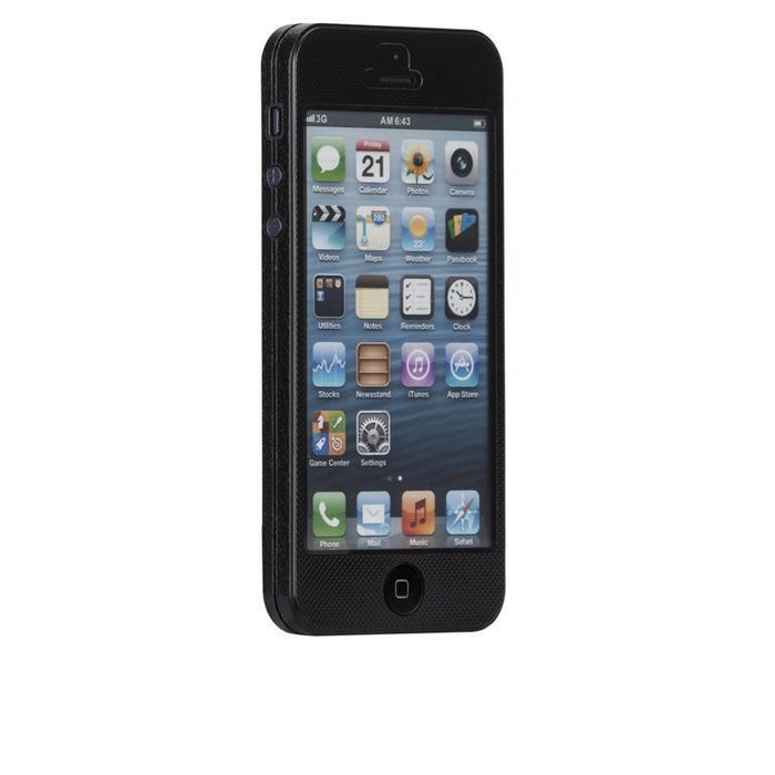 Casemate Barely There Zero iPhone 5/5S/SE Cover (Black)