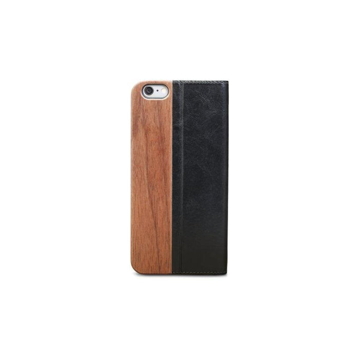 Dbramante1928 Leather Flip Risskov iPhone 6/6S Cover (Brown Wood)