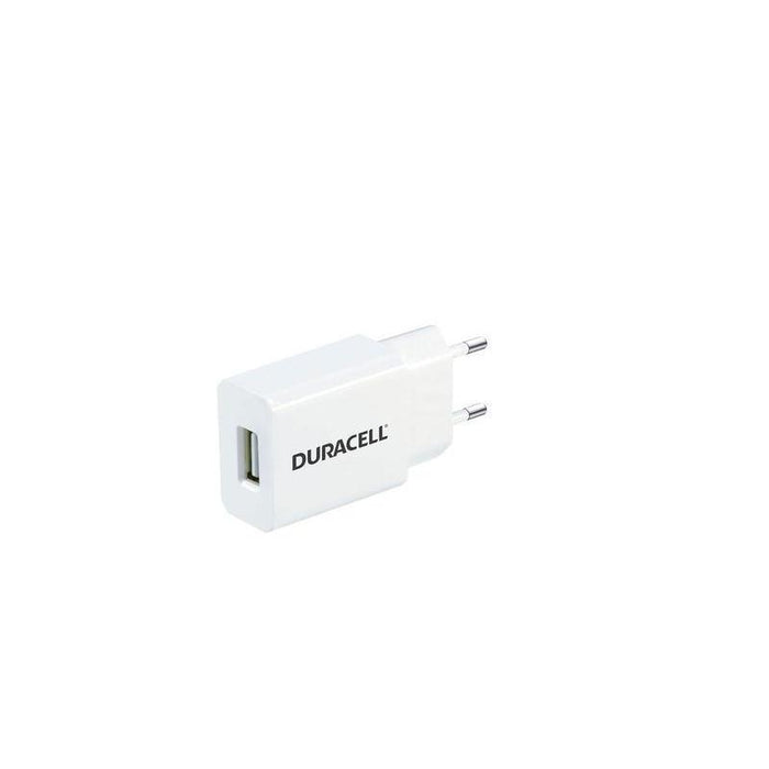 Duracell Single Port USB Wall Charger 1A (White)