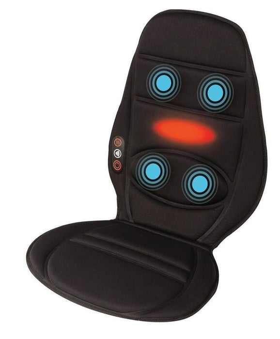 Homedics Vibration Comfort Massager with Heat (Black)