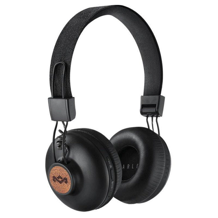 House of Marley Positive Vibration Bluetooth Headphones (Signature Black)