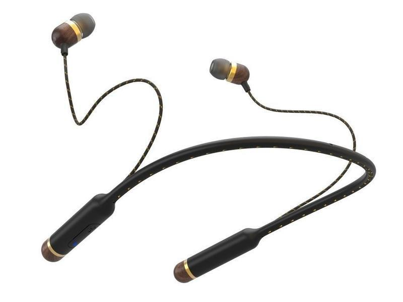 House of Marley Smile Jamaica Bluetooth Earphones (Brass)
