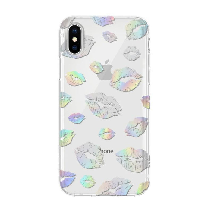 Incipio Design Series Classic iPhone X/10 Cover (Holographic Kisses)