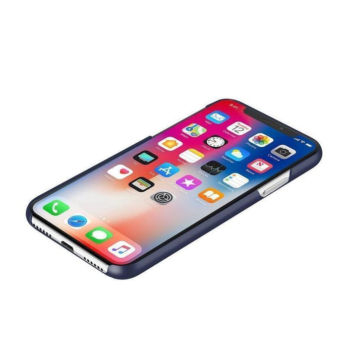 Incipio Feather iPhone X/10 Cover (Iridescent Midnight Blue)
