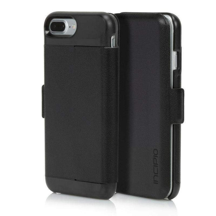 Incipio Wallet Folio Case iPhone 7/8 Plus Cover (Black)
