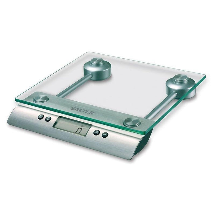 Salter Aquatronic Glass Digital Kitchen Scale (Stainless Steel)