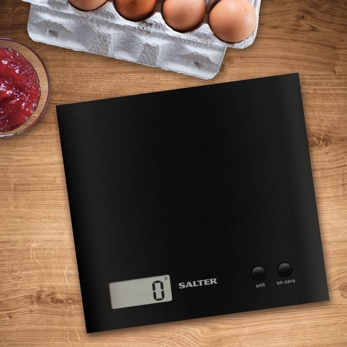 Salter Arc Electronic Kitchen Scale (Black)
