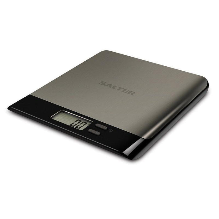 Salter Arc Pro Electronic Kitchen Scale (Stainless Steel/Black)