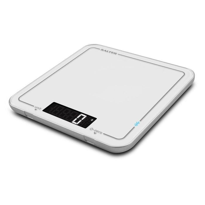 Salter Cook Pro Bluetooth Kitchen Scale (White)