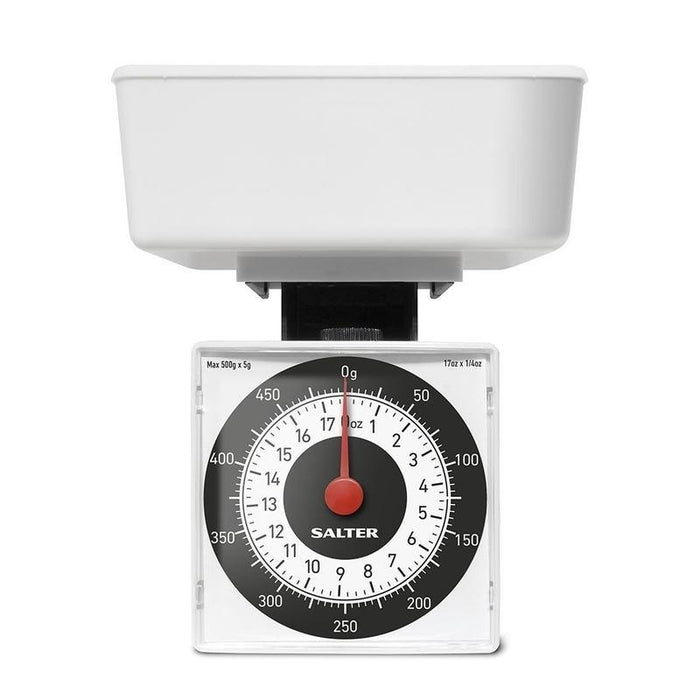 Salter Dietary Mechanical Kitchen Scale (White)