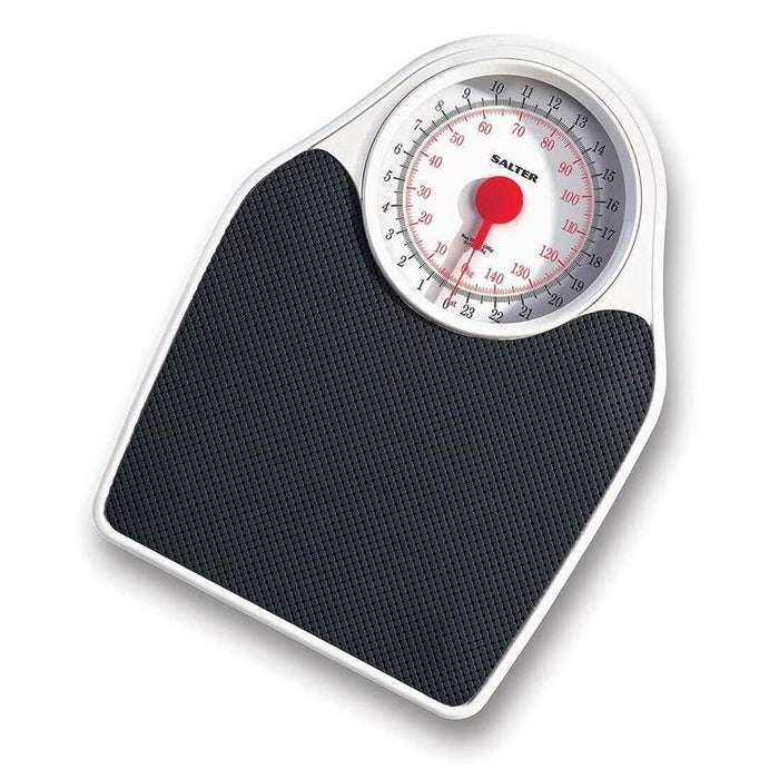 Salter Fitness Mechanical Bathroom Scale (Black)