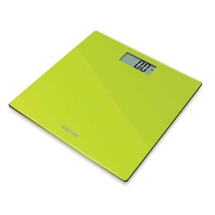 Salter Glass Bathroom Scale (Green)