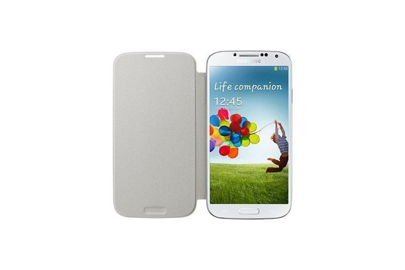 Samsung Flip Cover Galaxy S4 Cover (Orange)