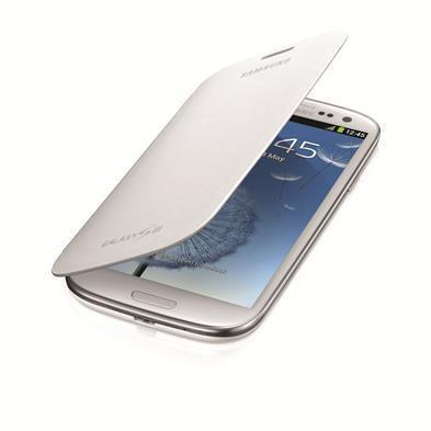 Samsung Flip Samsung Galaxy S3 Cover (Marble)