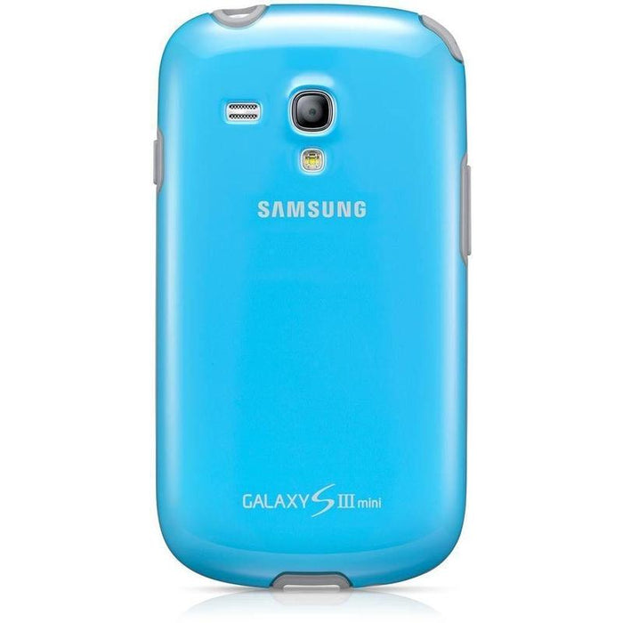 Samsung Protective Case Samsung Galaxy S3 Mini Cover (Light Blue)